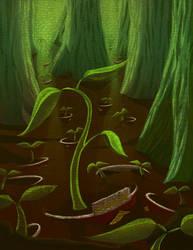 Trees in Cups by kyuumu