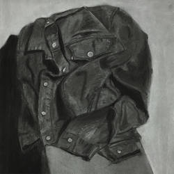 Drapery Study in Charcoal by akimboo