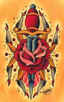 Spider Rose by kawzone