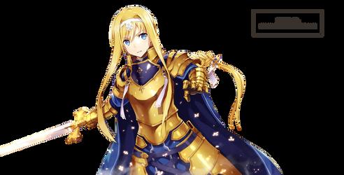 Alice Zuberg Render - Sword Art Online by galangcp