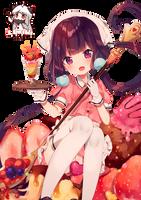 [Blend S] Sakuranomiya Maika Render by LCkiWi