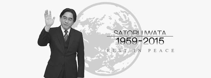 Rest in Peace Satoru Iwata: 1959-2015 by Jason9811