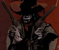 Gunslinger Closeup by Stinoga