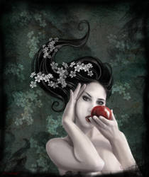 In the garden of Eden I by Alicelefay