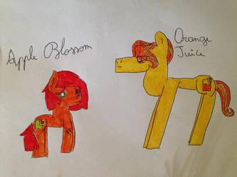 My Little Pony : AppleJack's parents by MLPNextGenFan