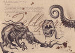 Anatomic Shoggoth - Lovecraft by Zellgarm