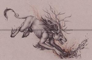 Fiend - The Witcher 3 : Wild Hunt by Zellgarm