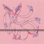 Sylveon / Nymphali - Pokemon by Zellgarm