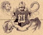 Hogwarts - Harry Potter by Zellgarm