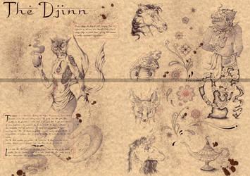 THE DJINN by Zellgarm