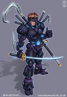 Bengosha: Cyber Samurai by Bomu