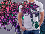 T-Shirt Design: Mech Doodle by Bomu