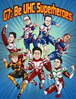 G7 Manga World Leaders Cover by Bomu