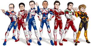 G7 Manga World Leaders by Bomu