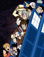 Doctor Who Print Finished by Pembroke