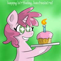 Happy Birthday Hauteclaire by Pembroke