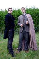 Remus Lupin and Sirius Black by majann