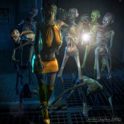 Zombieeezzz by OrestesGraphics