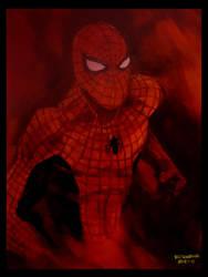 MARVEL: REDS -SPIDERMAN by katukomal