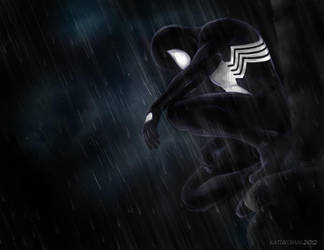 Spider-Man: Black 01 by katukomal