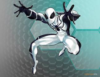 Spider-Man: White 01 by katukomal