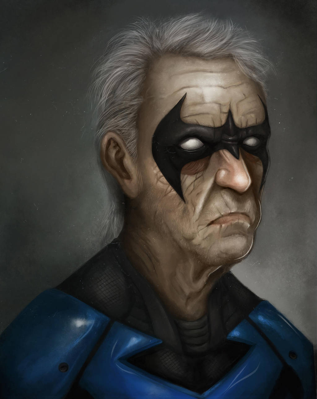 NightWing Old Days by kreativeblade