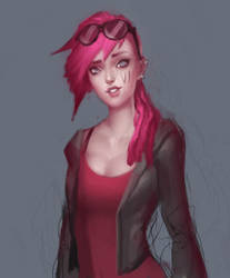 Vi sketch by SenRyuji
