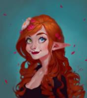 Aeris Alyce Flowery by SenRyuji