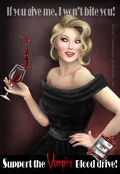 Vampire Blood Drive by Tanzanight