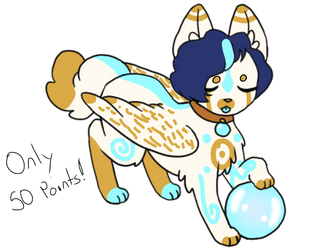 Cheap Angel Canine! {CLOSED} by XSilentStatic
