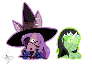 Request: Girl Bat Witch and Pilar Pilar2 by JWolf-97