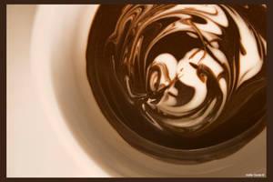 Chocolate Swirl by Imagine-This