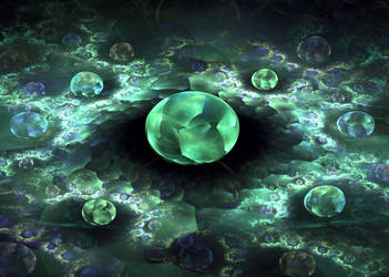 Alien eggs by xAsOnex