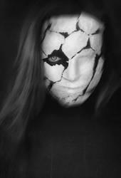 Behind a broken mask II by xAsOnex