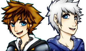 Sora and Jack by KarinMaaka07