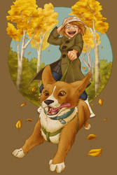 Walking the Dog by DeFemme