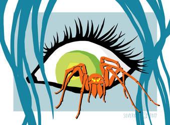 Arachnophobia by Severka