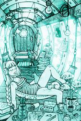 I wanna live in a submarine by Severka