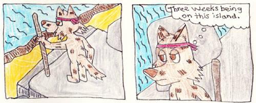 Island Dog Comic by Siluntwolf