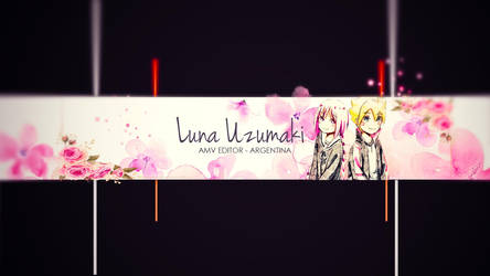 Luna Uzumaki Banner by hitomimizukii