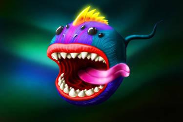 Kiss'o'fish by horlet