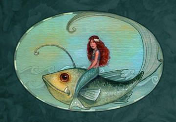 a little mermaid by P0UL