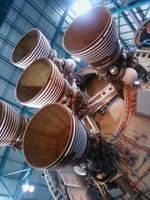 Rocket exhaust by Dark-EyedTrickster