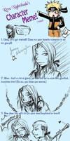 Character meme: Norrington by PrismOfLife
