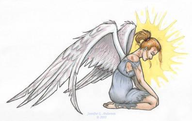 Harry's Broken Angel - Karrin Murphy - Color by crzydemona