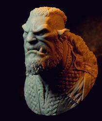 Orc Warrior by RaffaelePicca