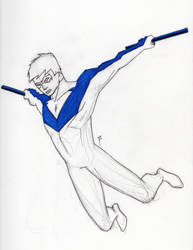 Nightwing by DoYouHaveYourTowel42