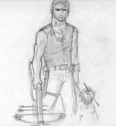 Daryl Dixon by DoYouHaveYourTowel42