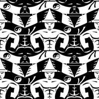 Karateka tessellation by Hop41