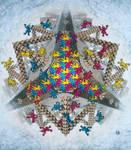 Escher like monkeys by Hop41